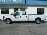 F250 Pickup with Super Crew Cab