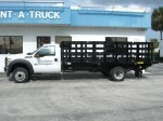F550 Flatbed with Tuck-Away Liftgate