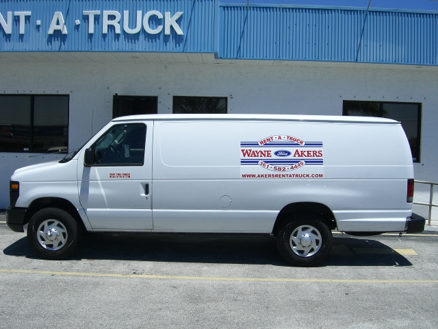 E-250 Stretch Cargo Van