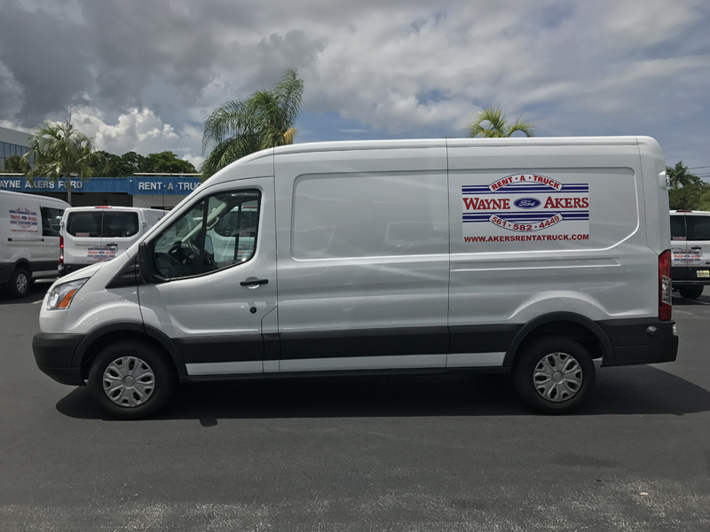 Ford Truck Towing Capacity >> 250 Transit Extended Cargo Van - Akers Truck Rental
