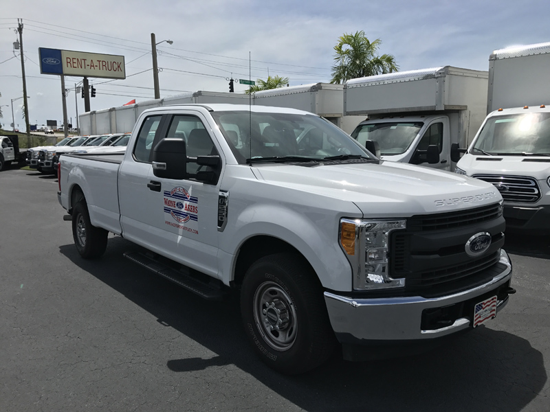 F 250 Extended Cab With Towing Package Akers Truck Rental