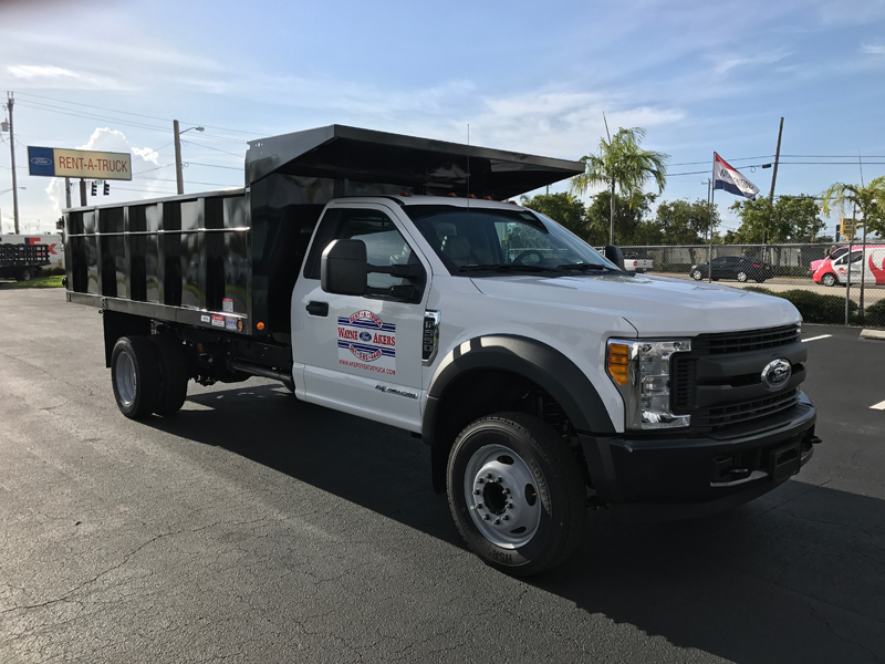 Ford Dump Truck >> The Largest Selection Of Ford Rental Trucks In South East Florida